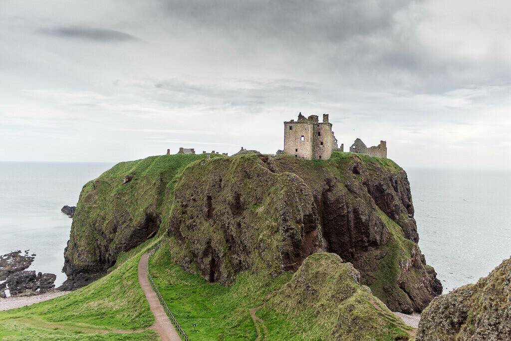 Dunnottar Castle in Schottland