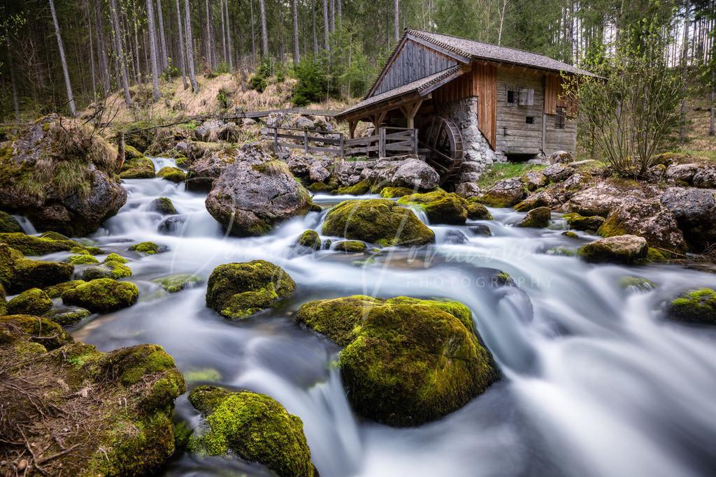 Gollinger Wasserfall | Mühle am Gollinger Wasserfall