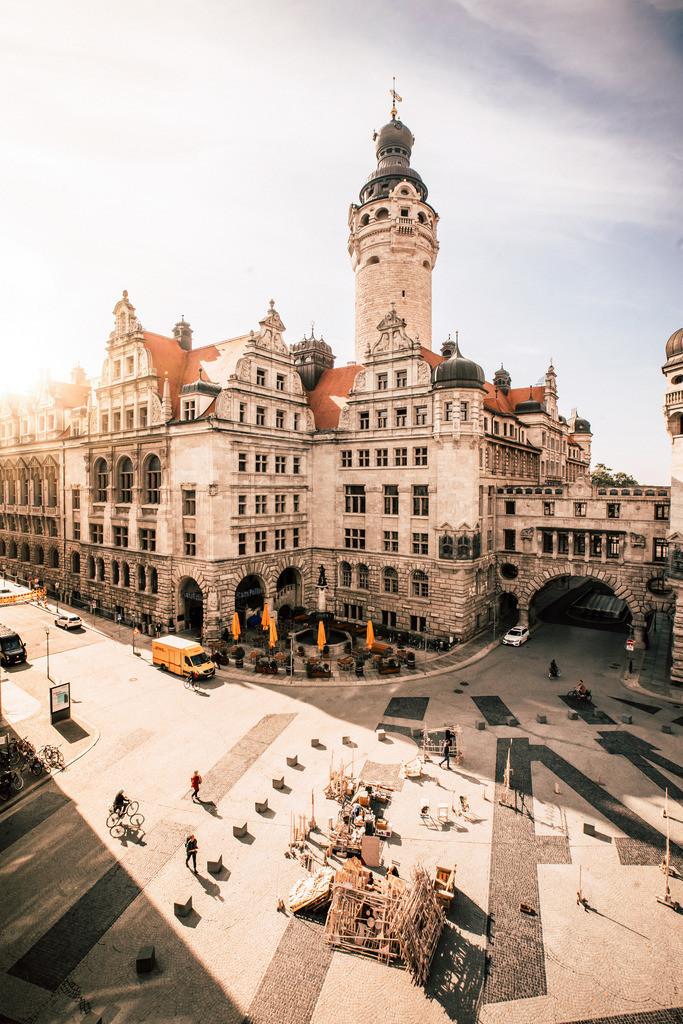 Burgplatz Leipzig | Im Herzen von Leipzig scheint immer die Sonne