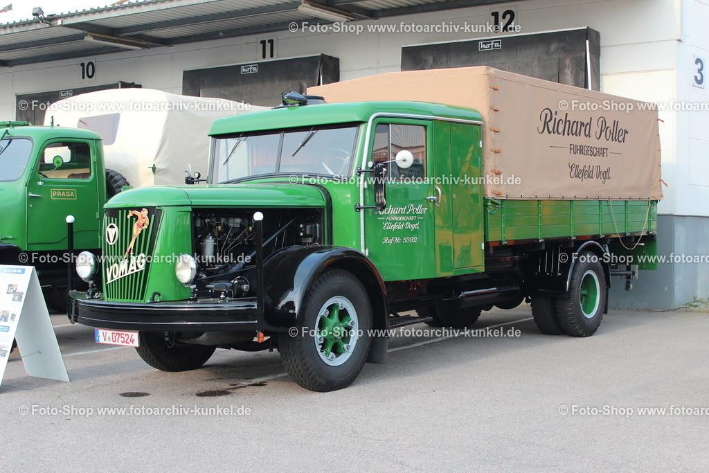 VOMAG Typ 4,5 LHG 448 Pritschenwagen (Richard Poller), 1943 | VOMAG Typ 4,5 LHG 448 Pritschenwagen, Farbe: Grün, Baujahr 1943, Richard Poller, Motor Typ 4GR 1080 HG, Hubraum 11000 cm³, Leistung 100 PS, Eigengewicht 6300 kg,  Nutzlast 4500 kg, das Fahrzeug wurde aus Norwegen geholt, nachdem es während des 2. Weltkrieges dorthin gelangte, Fahrgestell-Nr. 11002, Hersteller: Vogtländische Maschinenfabrik AG (VOMAG), Deutschland