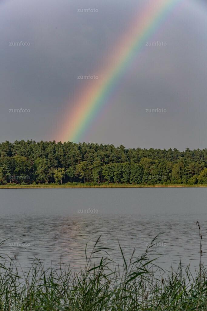 0-130810-1883 | --DAteigröße 3775 x 5663 Pixel-- Regenbogen über Feisnecksee