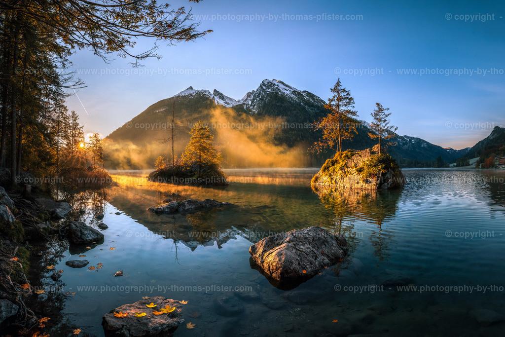 Hintersee in Berchtesgaden Herbst-3