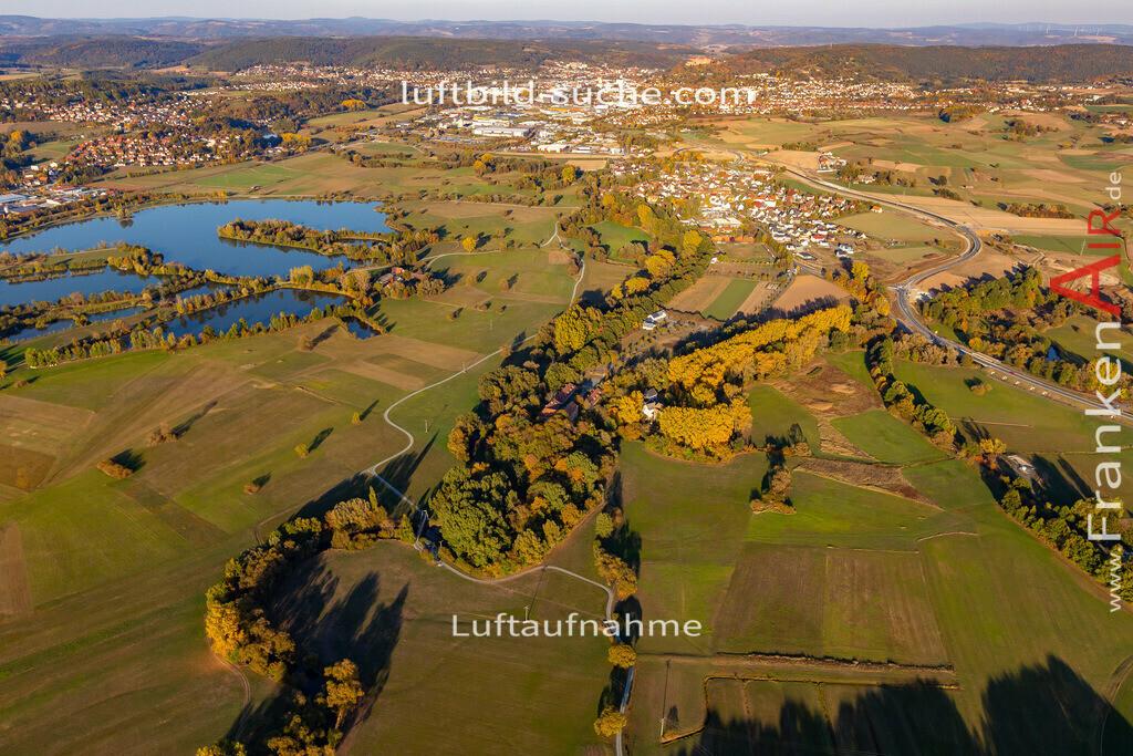 mainzusammenfluss-kulmbach-18-356   aktuelles Luftbild von Mainzusammenfluss Kulmbach - Luftaufnahme wurde 2018 von https://frankenair.de mittels Flugzeug (keine Drohne) erstellt.