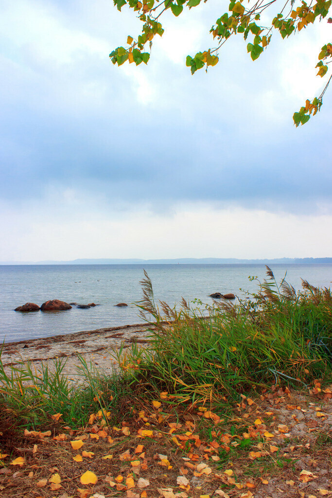 Strand in Holnis | Strand in Holnis im Herbst