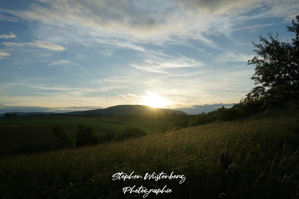 Sunset Dreisen | Sonnuntergang über dem Donnersberg von Dreisen aus aufgenommen