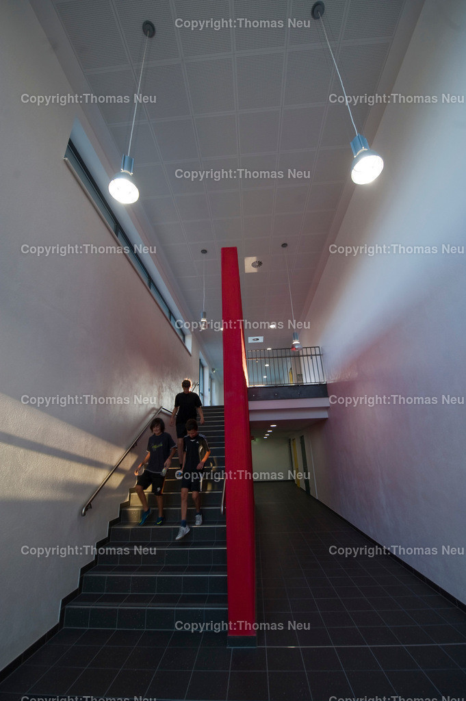 _D7N0034   0909,neue Turnhalle Goethegymnasium Bensheim, Bild: Thomas Neu