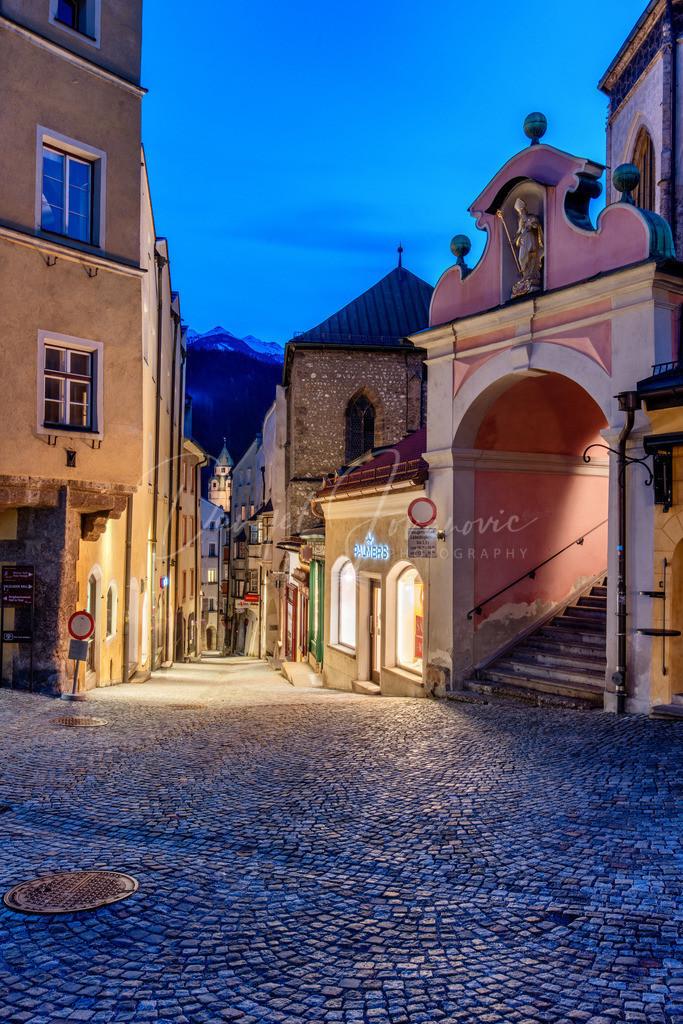 Hall in Tirol | Abendstimmung in Hall in Tirol