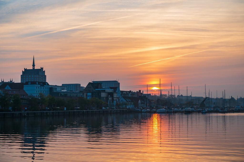 rk_05784 | Blick auf den Stadthafen in Rostock.