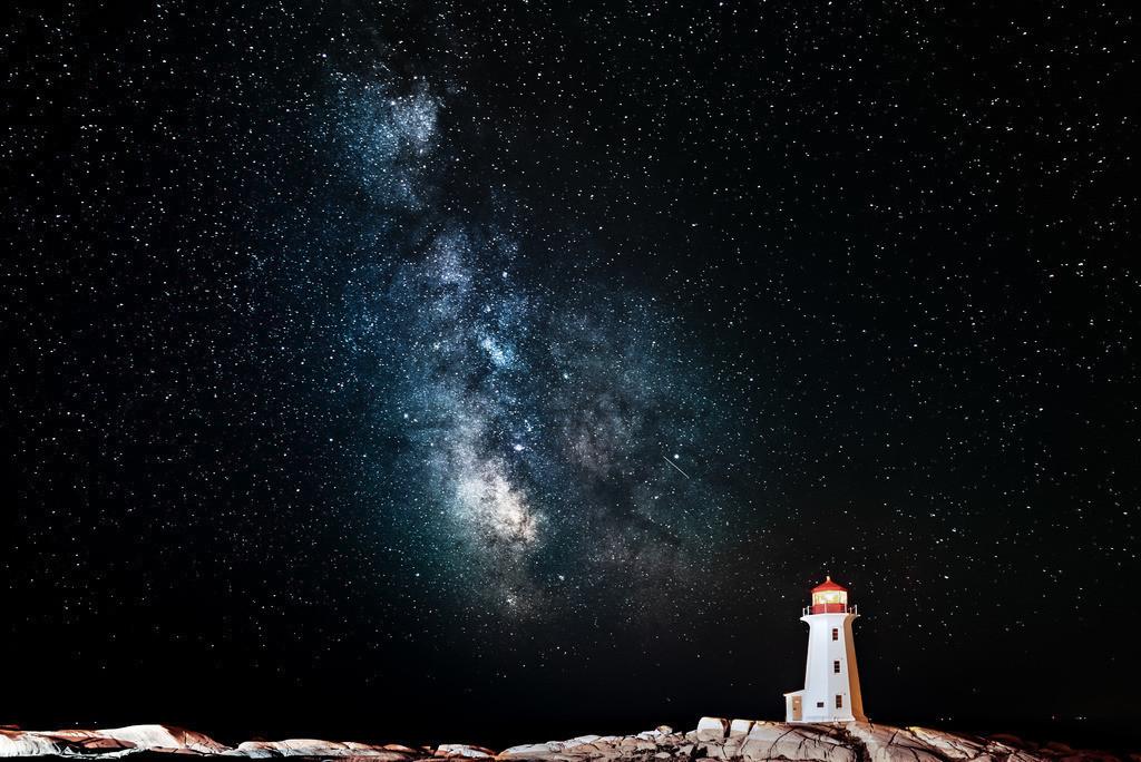 Milkyway | Leuchtturm vor Milchstraße
