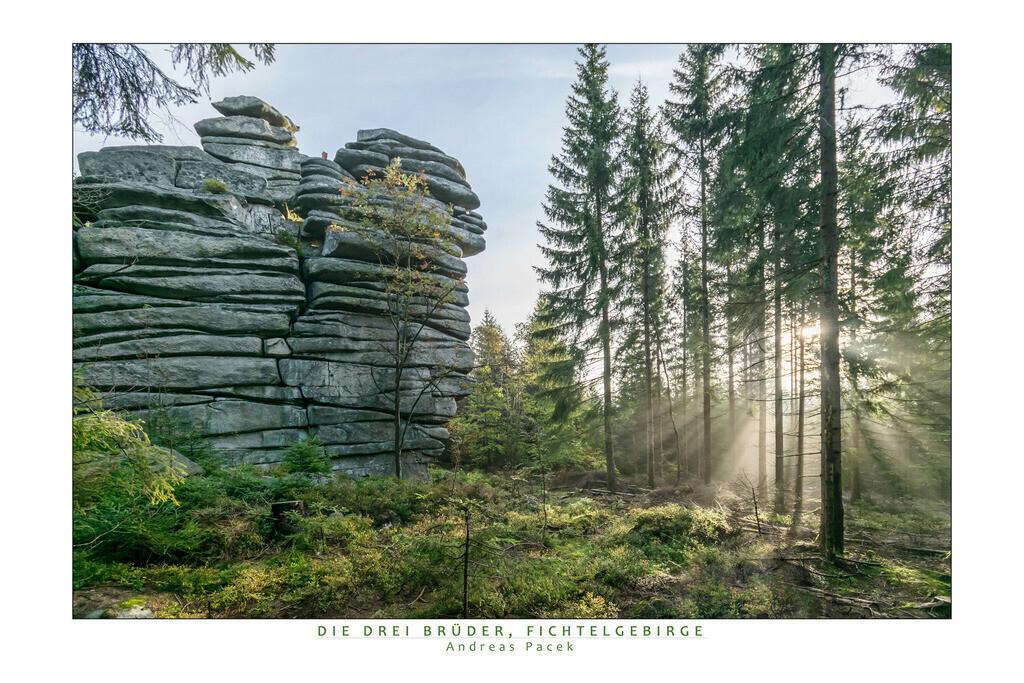 Die Drei Brüder, Fichtelgebirge | Die Serie 'Deutschlands Landschaften' zeigt die schönsten und wildesten deutschen Landschaften.