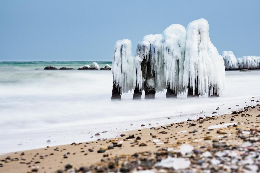 Winter an der Küste der Ostsee bei Kühlungsborn | Winter an der Küste der Ostsee bei Kühlungsborn.