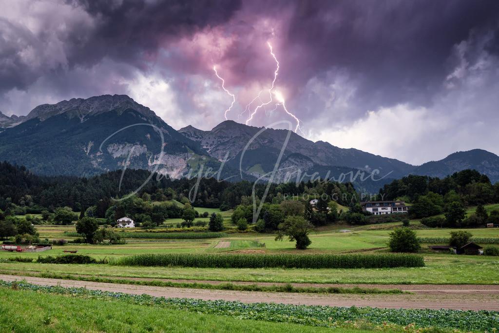 Gewitter in Innsbruck | Gwitter über dem Karwendel