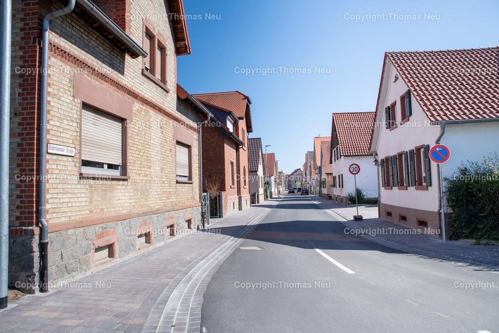 DSC_9974 | Bensheim,bbe,Stadtteil Schwanheim, Rohrheimer Straße Blick von West nach Ost, ,, Bild: Thomas Neu