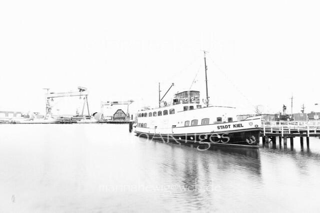 Museumshafen | Museumshafen Kiel mit der MS Stadt Kiel