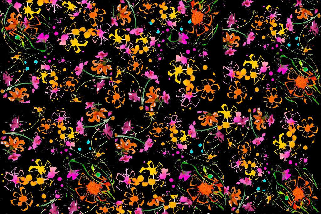 Blumen-Motiv-1 | Projektionsmotive der Kunstevents