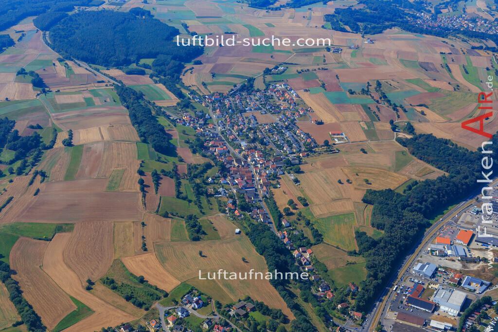 trosendorf--2016-303   Luftbild von Trosendorf  - Luftaufnahme wurde 2016 von https://frankenair.de mittels Flugzeug (keine Drohne) erstellt - die Geschenkidee