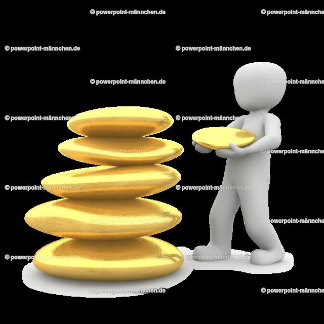 stacking golden stones | Quelle: https://3dman.eu   Jetzt 250 Bilder kostenlos sichern