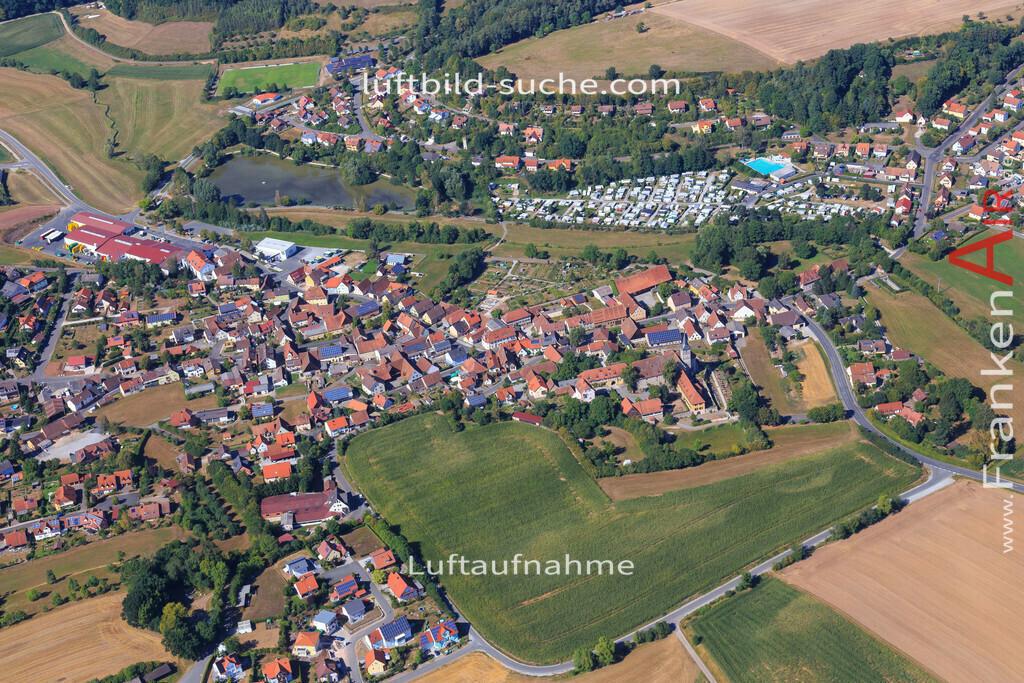 muechsteinach-2015-2229 | Luftbild von  Muechsteinach - Luftaufnahme wurde 2015 von https://frankenair.de mittels Flugzeug (keine Drohne) erstellt - die Geschenkidee