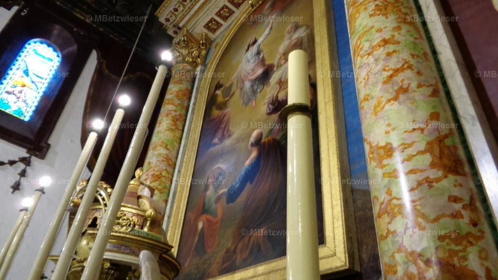 DSC00413   Altar in der Iglesia San Salvador in Santa Cruz de La Palma