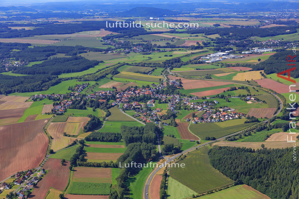 burggrub-stockheim-17-5457 | Luftbild von Burggrub Stockheim - Luftaufnahme wurde 2017 von https://frankenair.de mittels Flugzeug (keine Drohne) erstellt - die Geschenkidee