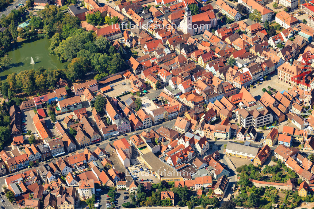 wilhelmstrasse-neustadt-an-der-aisch-2015-131 | Luftbild von Wilhelmstrasse Neustadt-an-der-aisch - Luftaufnahme wurde 2015 von https://frankenair.de mittels Flugzeug (keine Drohne) erstellt - die Geschenkidee