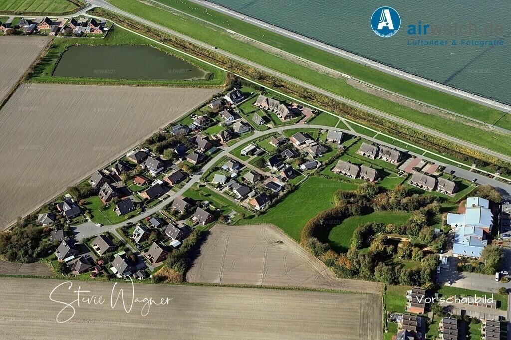 Luftbild Nordseeheilbad Nordstrand, Uthlandeweg, Hoernstrasse | Nordsee, Nordstrand, Uthlandeweg, Hoernstrasse • max. 6240 x 4160 pix - Luftbild, Luftaufnahme, aerophoto, Luftbildfotografie, Luftbilder