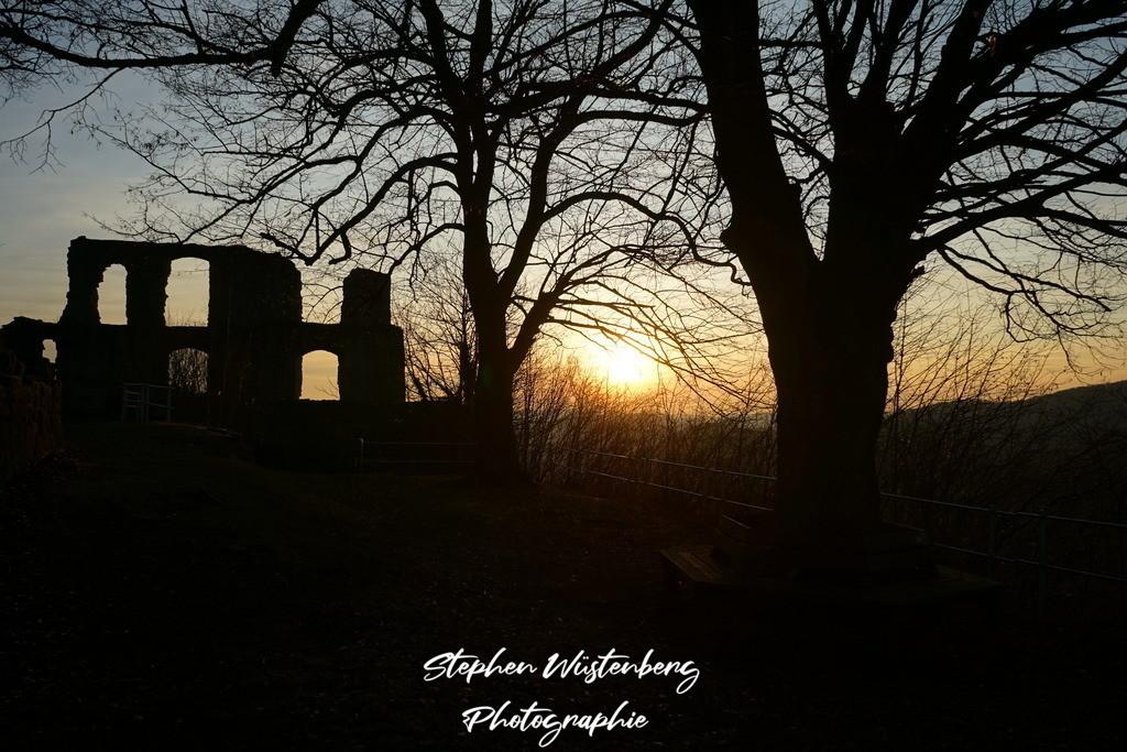 Sunset Burg Falkenstein | Sunset auf Burg Falkenstein