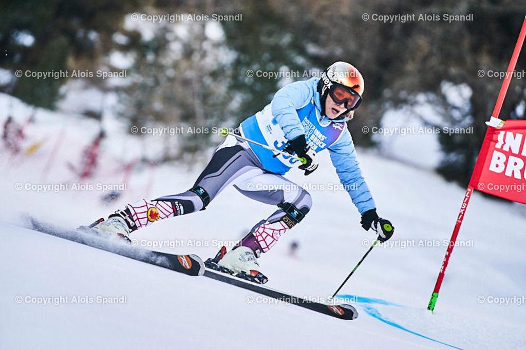 ALS5492_WWMG_GS-II_C   (C) FotoLois.com, Alois Spandl, WinterWorldMastersGames 2020 Innsbruck, Giant Slalom-II Gruppe C Damen, Patscherkofel Olympiaabfahrt, Mi 15. Jänner 2020.
