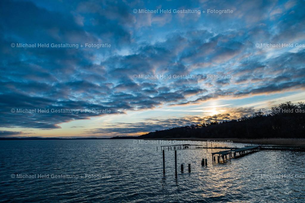 Wintersonnenaufgang am See | Sonnenaufgang in Grabensee am Selenter See im Winter