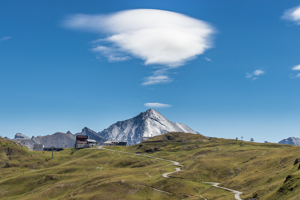 Rauchende Bergspitze