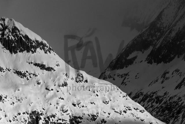 Blick Richtung Mittelaletschgletscher