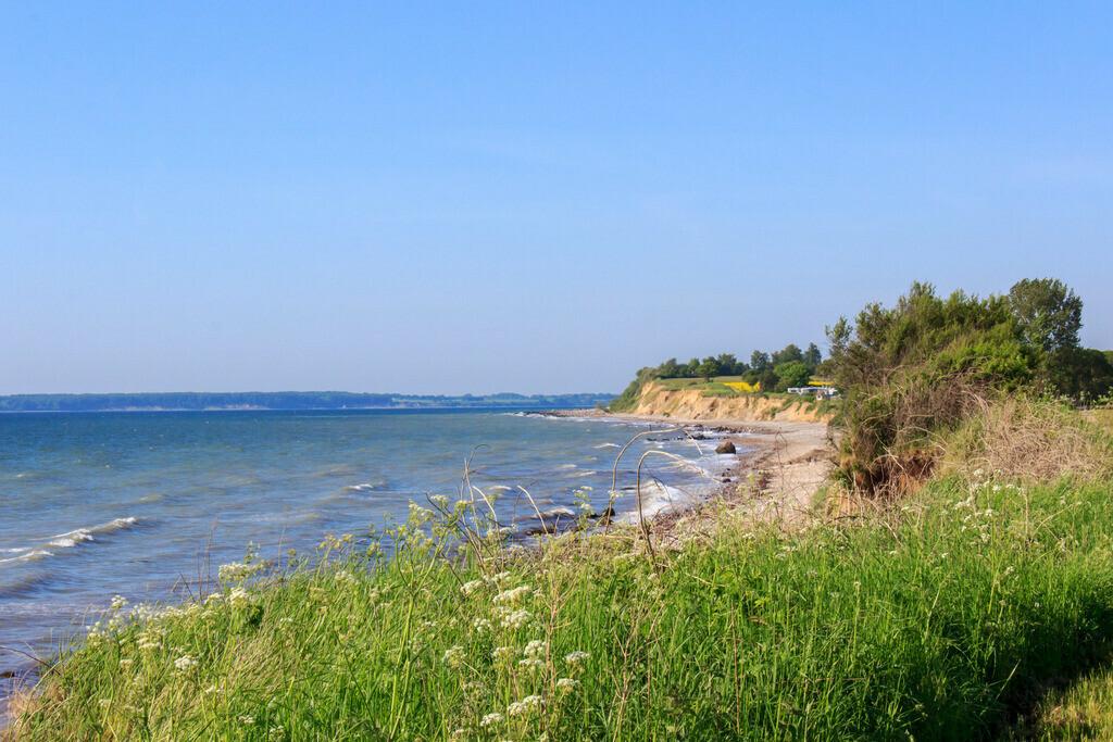 Frühling an der Ostsee | Steilküste in Waabs im Frühling