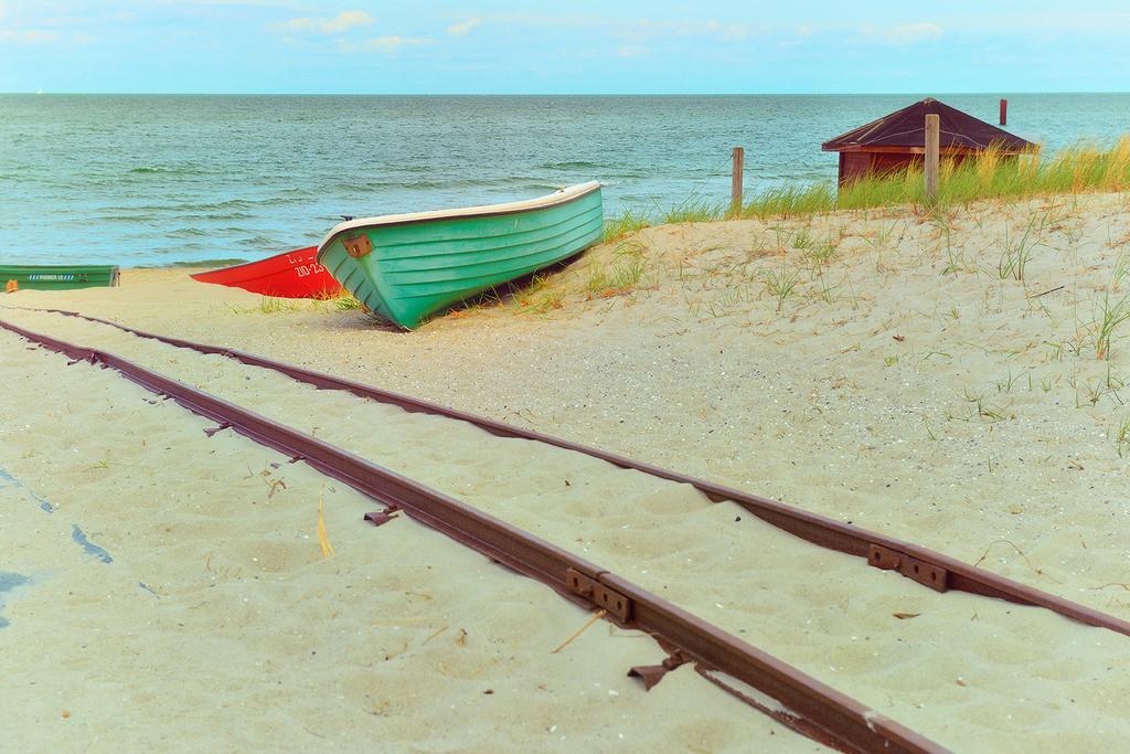 Fischerboote am Strand | Fischerboote am Strand von Zingst