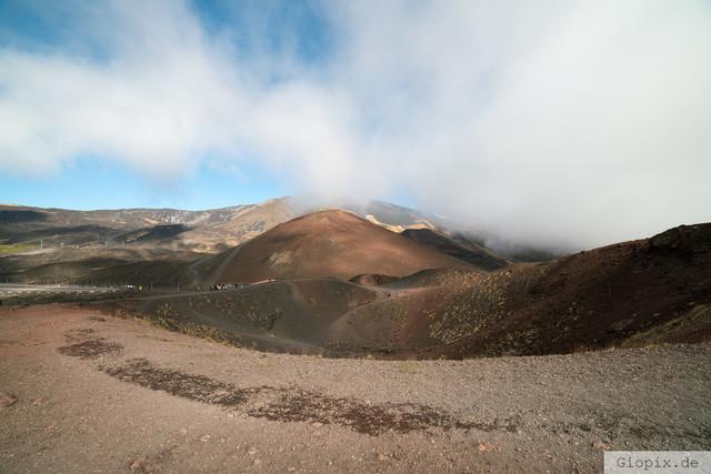 Vulkanlandschaft | Vulkanlandschaft auf dem Vulkan Ätna auf Sizilien