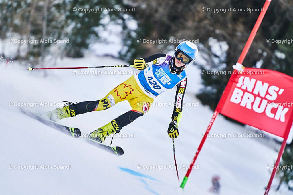 ALS5819_WWMG_GS-II_C   (C) FotoLois.com, Alois Spandl, WinterWorldMastersGames 2020 Innsbruck, Giant Slalom-II Gruppe C Damen, Patscherkofel Olympiaabfahrt, Mi 15. Jänner 2020.