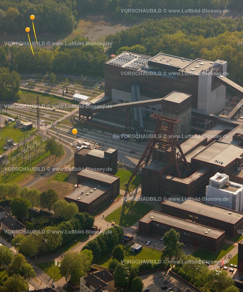 ES10056341 | Zollverein 12/6/8 Weltkulturerbe, Zollverein 3/7/10, Schachtzeichen ruhr2010,  Essen, Ruhrgebiet, Nordrhein-Westfalen, Deutschland, Europa, Foto: hans@blossey.eu, 22.05.2010