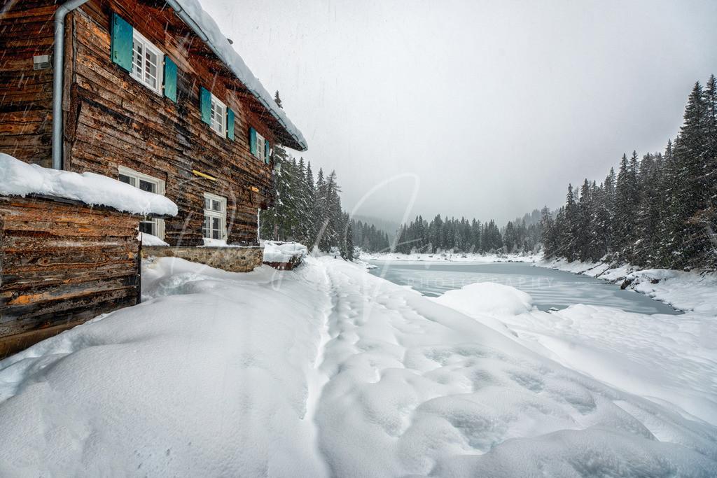 Winter Wonderland | Wunderschöner Winter am Obernberger See