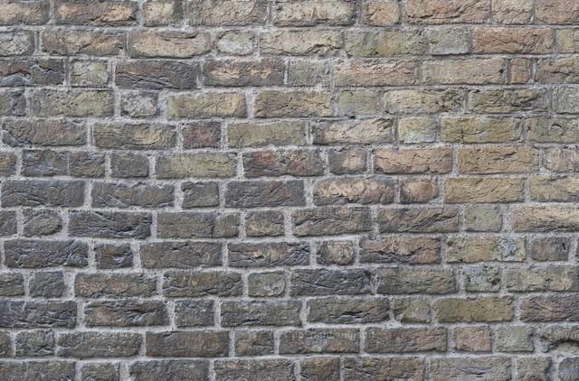 Backsteinwand | Detail einer Backsteinwand als Hintergrund.