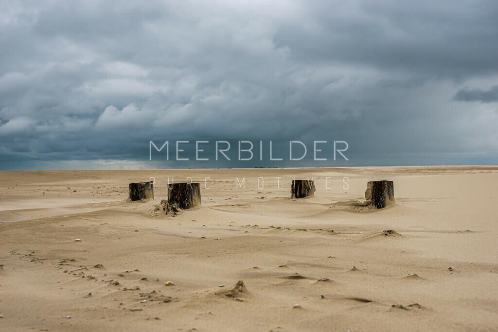 Meer Bilder Nordsee II | Abstrakte Fotografie: Abstraktes Nordsee Bild auf Alu Dibond, Fotoleinwand oder Acrylglas.