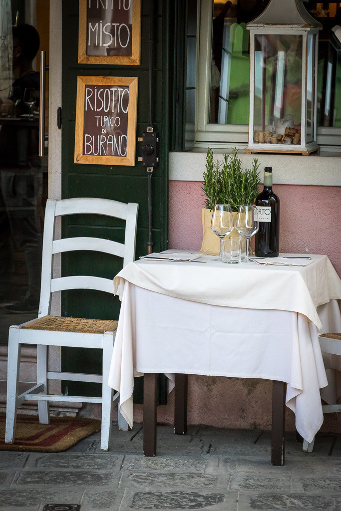 Gedeckter Tisch | Burano, Italy