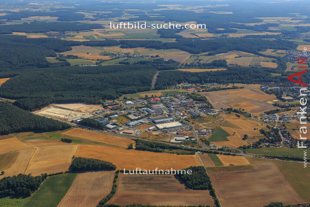 neustadt-aisch-2015-2235 | Luftbild von  Neustadt-aisch - Luftaufnahme wurde 2015 von https://frankenair.de mittels Flugzeug (keine Drohne) erstellt - die Geschenkidee