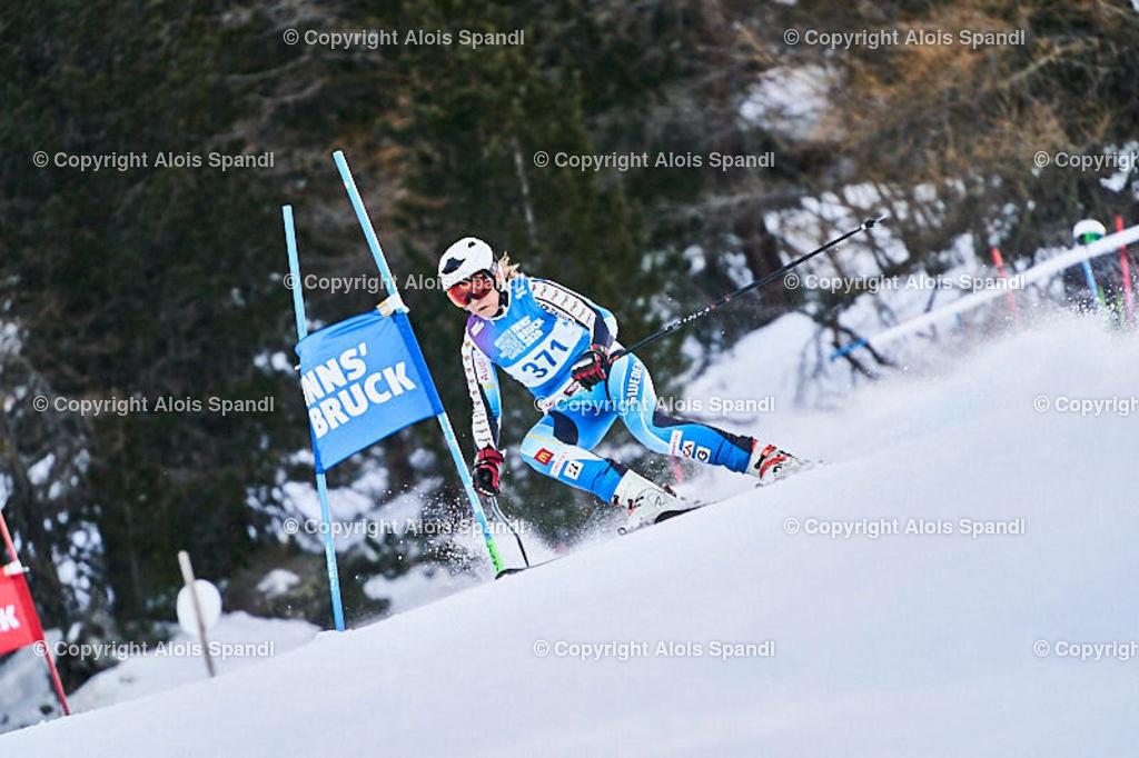 ALS5499_WWMG_GS-II_C   (C) FotoLois.com, Alois Spandl, WinterWorldMastersGames 2020 Innsbruck, Giant Slalom-II Gruppe C Damen, Patscherkofel Olympiaabfahrt, Mi 15. Jänner 2020.