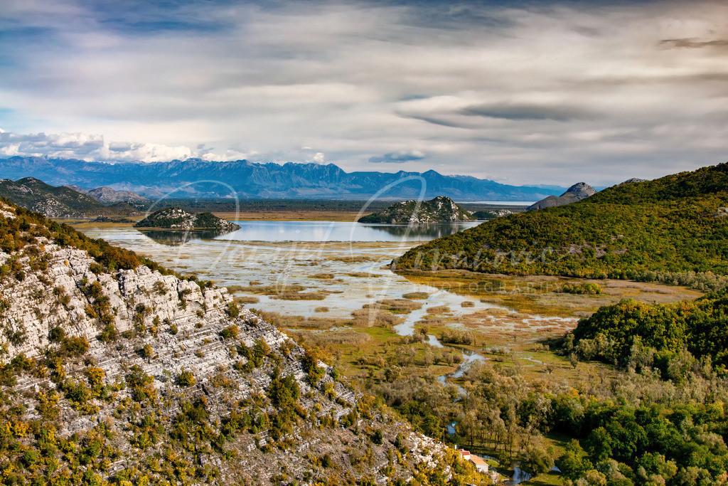 Skadar See | Der Skadar See im Herbst