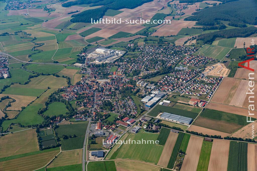 uehlfeld-19-565 | aktuelles Luftbild von Uehlfeld   - Luftaufnahme wurde 2019 von https://frankenair.de mittels Flugzeug (keine Drohne) erstellt.