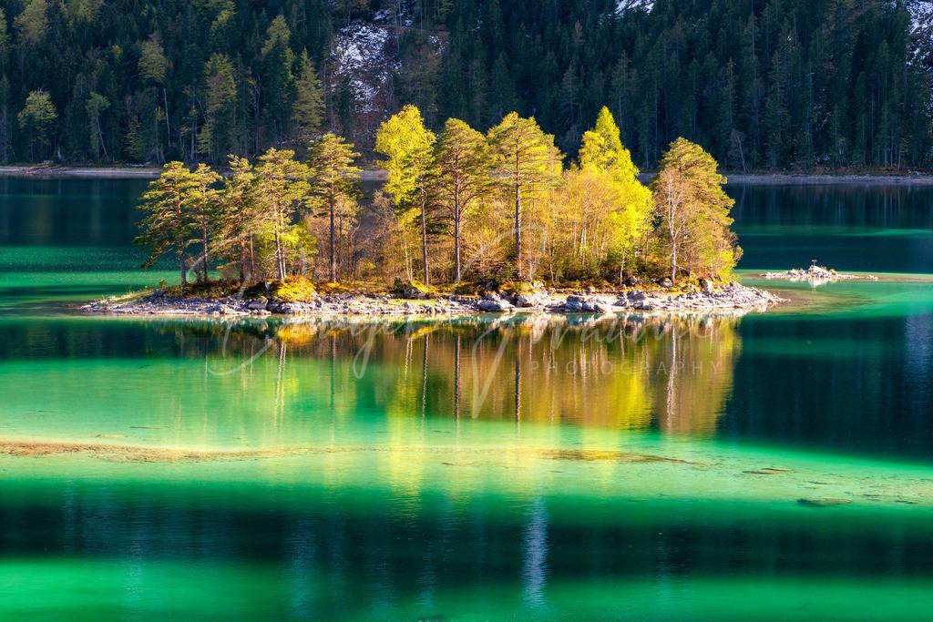 Eibsee | Wunderschönes, kristallklares Wasser am Eibsee