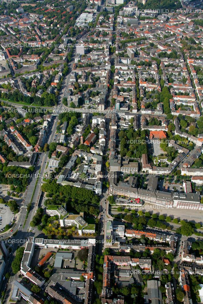 ES10094219 | Ruettenscheider Strasse, Luftbild,  Essen, Ruhrgebiet, Nordrhein-Westfalen, Germany, Europa, Foto: hans@blossey.eu, 05.09.2010