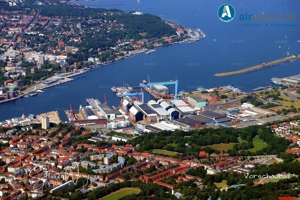 Kiel, Kieler-Förde,Ostseekai, German Naval Yards | Kiel, Kieler-Förde,Ostseekai, German Naval Yards • max. 6240 x 4160 pix