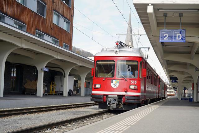 ABDt 515 | Der Stammpendel im Bahnhof Davos Platz