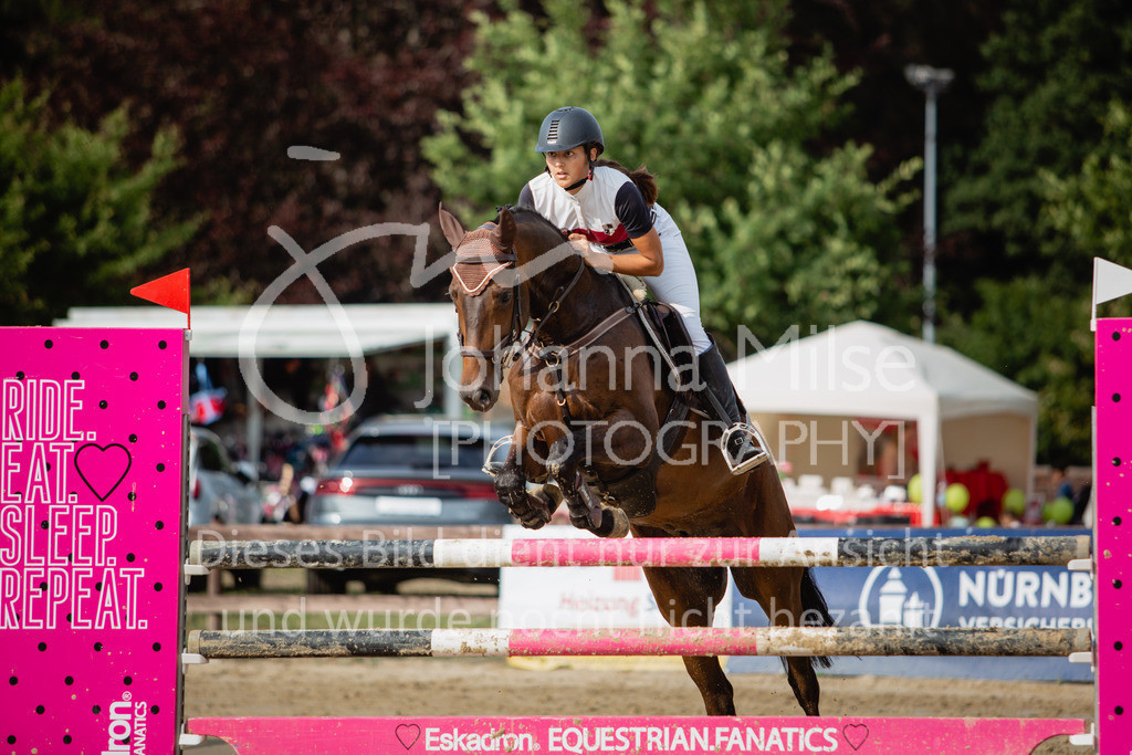 190801_BST_Springpferde-M_5-7J-418 | Braker Sommerturnier 2019 Springpferdeprüfung Kl. M* 5-7jährige Pferde
