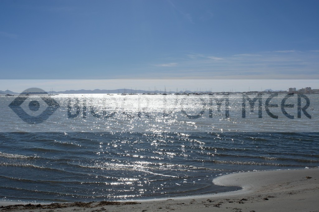 Bilder vom Meer | Meer Bilder: We Himmel Meer und Erde sich berühren